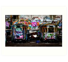 central and western suburbs Art Print