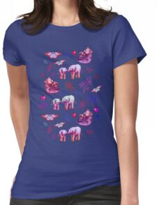 Just a Few of My Favorite Things - girly version  Womens Fitted T-Shirt
