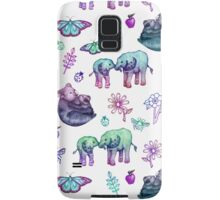 Just a Few of My Favorite Things - blues & purples  Samsung Galaxy Case/Skin