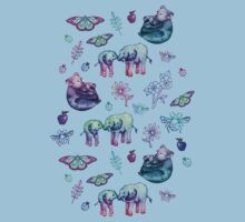 Just a Few of My Favorite Things - blues & purples  Kids Clothes