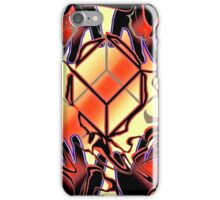 Hands shape realities iPhone Case/Skin