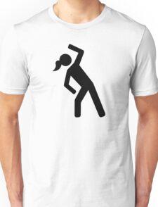 Aerobics symbol Unisex T-Shirt