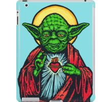 Holy Jedi Master iPad Case/Skin