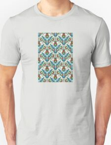 Bluebird In The Strawberry Patch  Unisex T-Shirt