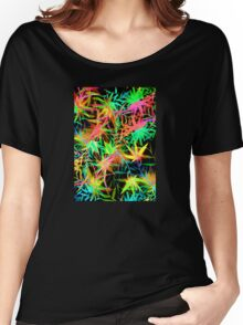 Tropical Jungle at Midnight Women's Relaxed Fit T-Shirt