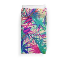 Tropical Jungle - a watercolor painting Duvet Cover