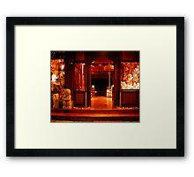 Murni's Warung, Ubud, Bali Framed Print