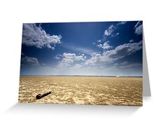 Infinity over and over Greeting Card