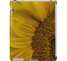 Macro Sunflower iPad Case/Skin