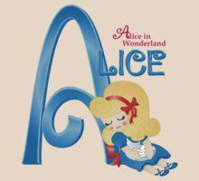 Alice-Alice In Wonderland by pepperdoll