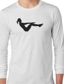 Aerobics Long Sleeve T-Shirt