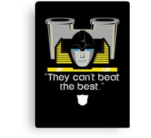 """Transformers - """"Sunstreaker (with Motto)"""" Canvas Print"""