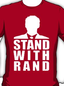 Stand With Rand Suit [White] T-Shirt