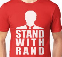 Stand With Rand Suit [White] Unisex T-Shirt