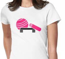 Aerobics equipment Womens Fitted T-Shirt