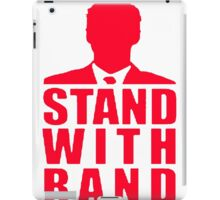 Stand With Rand Suit [Red] iPad Case/Skin