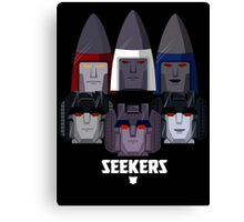 """Transformers - """"Seekers (Group)"""" Canvas Print"""