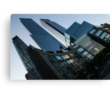 New York Curves and Skyscrapers Canvas Print