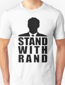 Stand With Rand Suit [Black] T-Shirt