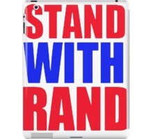 Stand With Rand [Red&Blue] iPad Case/Skin
