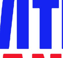 Stand With Rand [Red&Blue] Sticker