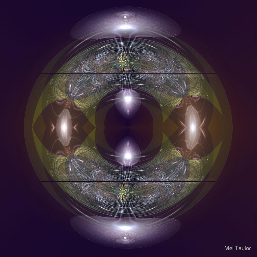 Lily vase by Mel Taylor