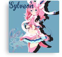 Sylveon Anime Canvas Print