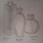 three most popular brand perfumes drawing... by SsR09