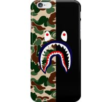 Bape Camo & Shark iPhone Case/Skin