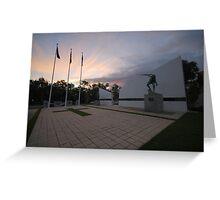 Shepparton War Memorial Greeting Card