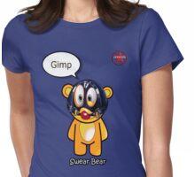 Geek Girl - SwearBear - GIMP Womens Fitted T-Shirt