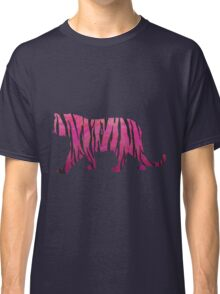 Tiger Hot Pink and Black Print Classic T-Shirt