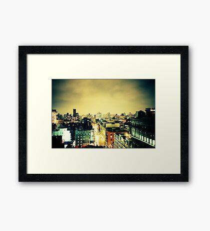Greenwich Village Skyline Framed Print