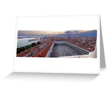 St. Mark's Square, Venice Greeting Card