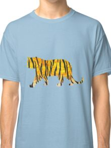 Tiger Black and Orange Print Classic T-Shirt