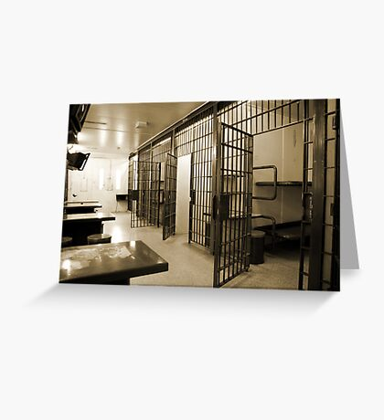 General Population, Cornwall Jail Greeting Card