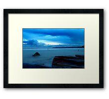 Blue Haven Framed Print