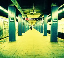 Subway Platform by cormacphelan