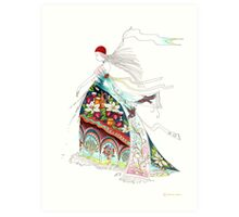 Awake, north wind, and come, south wind!  Art Print