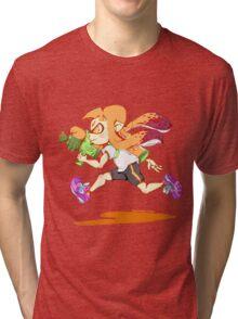 Girl Inkling Tri-blend T-Shirt