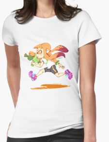 Girl Inkling Womens Fitted T-Shirt