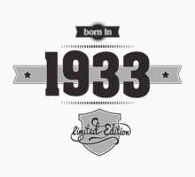 Born in 1933 Kids Clothes