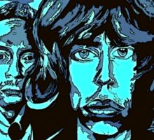 Rolling Stones Black and Blue - Design 3  Sticker