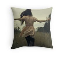 a souless entry Throw Pillow