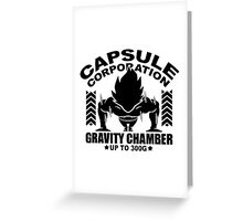Capsule Corporation, 300G Greeting Card