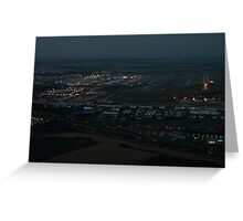 Paris CDG airport Greeting Card
