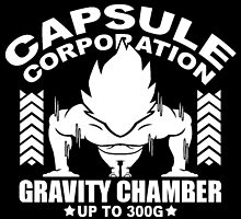 Capsule Corporation, 300G by bradjordan412