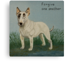 Forgive One Another Canvas Print