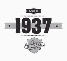 Born in 1937 Kids Clothes