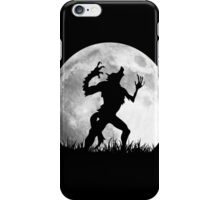 Werewolf at the Full Moon iPhone Case/Skin